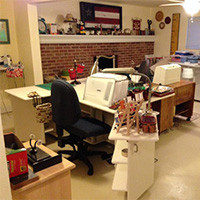 """My Sewing Room Takeover"""